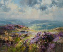 O190A The Derwent valley from Curbar Edge mk2 20x24