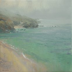 P232A Sea Mist, Portheras Cove, Cornwall 16x16