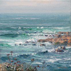 P244A Incoming Tide, Cape Cornwall 10x10