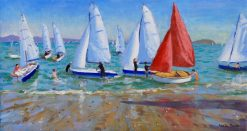 Summer Regatta,Abersoch,16x30""