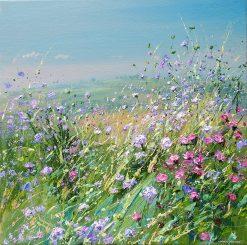 #Meadow Flowers, Bonsall Moor 20x20